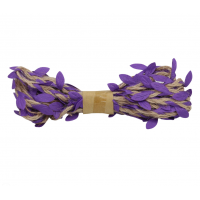 Астра Декоративная веревка с листикам Декоративная веревка с листиками, 3м, (фиолетовая) 2AR206 00003