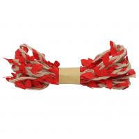 Астра Декоративная веревка с листиками Декоративная веревка с листиками, 3м, (красная) 2AR206 00004