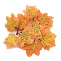 Астра Кленовые листья Кленовые листья, 12шт/упак.,  XY19-1147 (оранжево-зеленый)