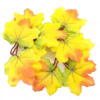Астра Кленовые листья Кленовые листья, 9шт/упак.,  XY19-1141 (желтый с оранжевым)