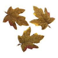 Астра Кленовые листья Кленовые листья, 9шт/упак.,  XY19-1141 (зелено-коричневые)