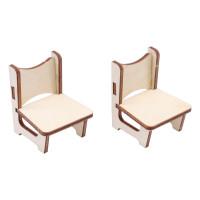 Астра L-1130 Деревянная заготовка Набор стульев 4шт 11*11см АСТРА