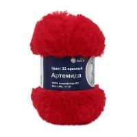 Astra Premium АРС-26858-1-АРС0001184293 Пряжа Артемида 100гр. 60м (100% микрофибра ПЛ) (32 красный) красный