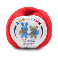 Astra Premium АРС-27031-1-АРС0001234615 Пряжа Амигуруми 50гр 175 м (100% акрил) (046 красный) красный