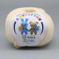 Astra Premium АРС-27515-1-АРС0001234621 Пряжа Амигуруми 50гр 175 м (100% акрил) (192 чайная роза) чайная роза