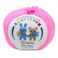 Astra Premium АРС-27520-1-АРС0001234628 Пряжа Амигуруми 50гр 175 м (100% акрил) (054 суперрозовый) суперрозовый