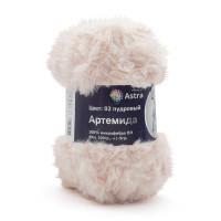 Astra Premium АРС-33247-1-АРС0001234333 Пряжа Артемида 100гр. 60м (100% микрофибра ПЛ) (02 пудровый) пудровый