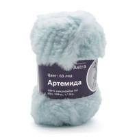 Astra Premium АРС-33248-1-АРС0001234334 Пряжа Артемида 100гр. 60м (100% микрофибра ПЛ) (03 лед) лед