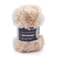 Astra Premium АРС-33255-1-АРС0001234341 Пряжа Артемида 100гр. 60м (100% микрофибра ПЛ) (23 оранжевый/белый) оранжевый/белый