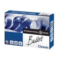 BALLET  Бумага офисная BALLET CLASSIC, А4, 80 г/м2, 500 л., марка В, ColorLok, International Paper, белизна 153%