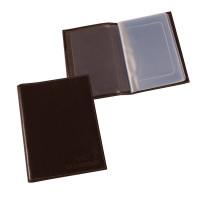 """BEFLER BV.1.-9 Бумажник водителя BEFLER """"Грейд"""", натуральная кожа, тиснение, 6 пластиковых карманов, коричневый, BV.1.-9"""