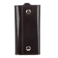 "BEFLER KL.3.-1 Футляр для ключей BEFLER ""Classic"", натуральная кожа, две кнопки, 60x110х15 мм, коричневый, KL.3.-1"