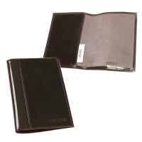 """BEFLER O.21.-1 Обложка для паспорта BEFLER """"Classic"""", натуральная кожа, тиснение """"Passport"""", коричневая, O.21.-1"""