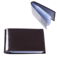 "BEFLER V.30.-1 Визитница карманная BEFLER ""Classic"" на 40 визитных карт, натуральная кожа, коричневая, V.30.-1"