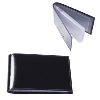 "BEFLER V.30.-1 Визитница карманная BEFLER ""Classic"" на 40 визиток, натуральная кожа, черная, V.30.-1"