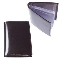 "BEFLER V.32.-1 Визитница карманная BEFLER ""Classic"" на 40 визитных карт, натуральная кожа, коричневая, V.32.-1"