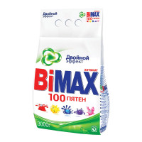 """BIMAX 502-1 Стиральный порошок-автомат 3 кг, BIMAX (Бимакс) """"100 пятен"""" (Нэфис Косметикс), 502-1"""