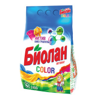 БИОЛАН 103-4 Стиральный порошок-автомат 2,4 кг, БИОЛАН Color (Нэфис Косметикс), 103-4