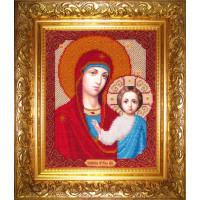 Бисерные мотивы БМ-101 Казанская Богородица