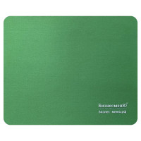 БИЗНЕСМЕНЮ 512816 Коврик для мыши БИЗНЕСМЕНЮ, резина+ткань, 220х180х3 мм, 512816