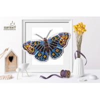 БЛАГОВЕСТ Б-005 Набор для вышивания 3-D бабочка. Юнония Орития 14х8 см