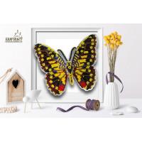 БЛАГОВЕСТ Б-014 Набор для вышивания 3-D бабочка. Парусник Демолей 13,5х11 см