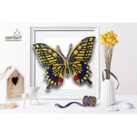 БЛАГОВЕСТ Б-015 Набор для вышивания 3-D бабочка. Махаон 14х11 см