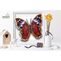 БЛАГОВЕСТ Б-017 Набор для вышивания 3-D бабочка. Anartia Amathea 12,5х11см