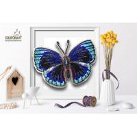 БЛАГОВЕСТ Б-020 Набор для вышивания 3-D бабочка. Callithea Optima 13,5 х10 см