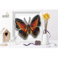 БЛАГОВЕСТ Б-026 Набор для вышивания 3-D бабочка. Charaxes Zingha 13,5 х11,5см