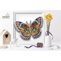 БЛАГОВЕСТ Б-038 Набор для вышивания 3-D бабочка. Cethosia Cyane 14х10 см
