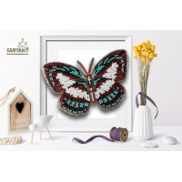 БЛАГОВЕСТ Б-040 Набор для вышивания 3-D бабочка. Danis Danis 13,5 х 9,5 см