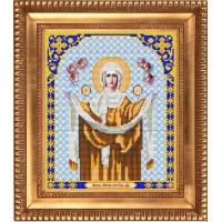 БЛАГОВЕСТ И-4018 Рисунок на ткани И-4018 Богородица Покрова