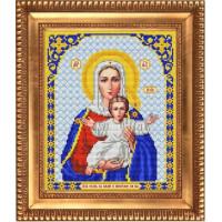 БЛАГОВЕСТ И-4019 Рисунок на ткани И-4019 Богородица Леушинская. Аз есмь с вами и никтоже на вы