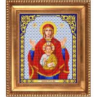 БЛАГОВЕСТ И-4026 Рисунок на ткани И-4026 Пресвятая Богородица Знамение