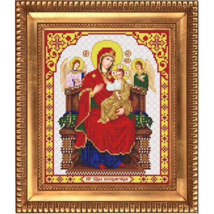 Рисунок на ткани И-4061 Пресвятая Богородица Всецарица (арт. И-4061)