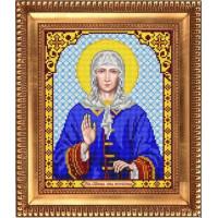 БЛАГОВЕСТ И-4080 Рисунок на ткани И-4080 Святая Блаженная Ксения Петербуржская