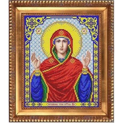 Рисунок на ткани И-4100 Пресвятая Богородица Нерушимая стена (арт. И-4100)