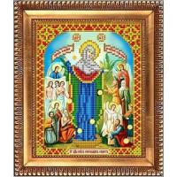 БЛАГОВЕСТ И-5036 Рисунок на ткани И-5036 Пресвятая Богородица Всех скорбящих радость