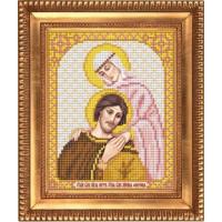 БЛАГОВЕСТ И-5053 Рисунок на ткани И-5053 Святой Князь Петр и Святая Княжна Феврония