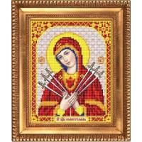 БЛАГОВЕСТ И-5073 Рисунок на ткани И-5073 Пресвятая Богородица Семистрельная