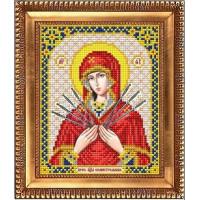 БЛАГОВЕСТ И-5087 Рисунок на ткани И-5087 Пресвятая Богородица Семистрельная