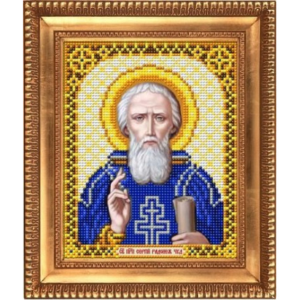 Рисунок на ткани И-5121 Святой Преподобный Сергий Радонежский (арт. И-5121)