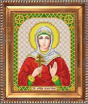 Рисунок на ткани И-5193 Святая Алевтина (арт. И-5193)