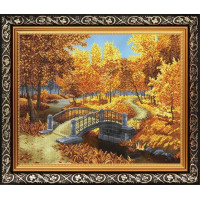 БЛАГОВЕСТ К-2028 Рисунок на ткани К-2028 Осенний парк
