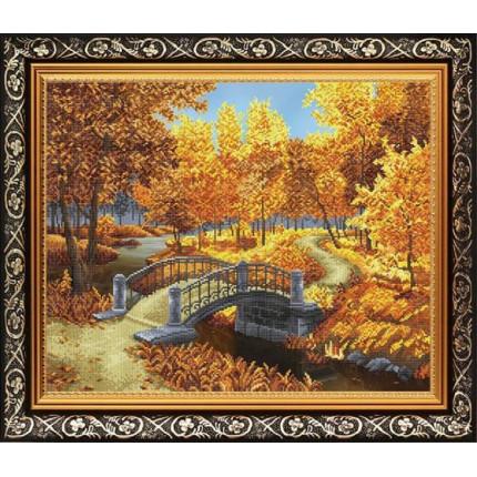 Рисунок на ткани К-2028 Осенний парк (арт. К-2028)