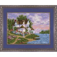 БЛАГОВЕСТ К-3054 Рисунок на ткани К-3054 Дом моей мечты