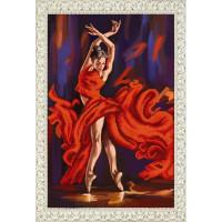 БЛАГОВЕСТ К-3099 Рисунок на ткани К-3099 Танец страсти