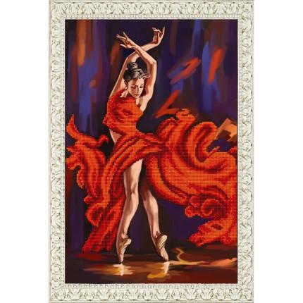 Рисунок на ткани К-3099 Танец страсти (арт. К-3099)
