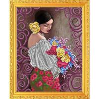 БЛАГОВЕСТ К-3107 Рисунок на ткани К-3107 Прекрасный букет прекрасной женщине